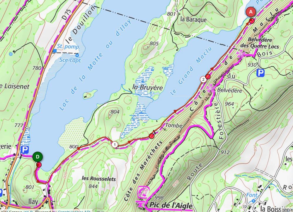 Cap 3 defi du pays des lacs 2 65km d 40m