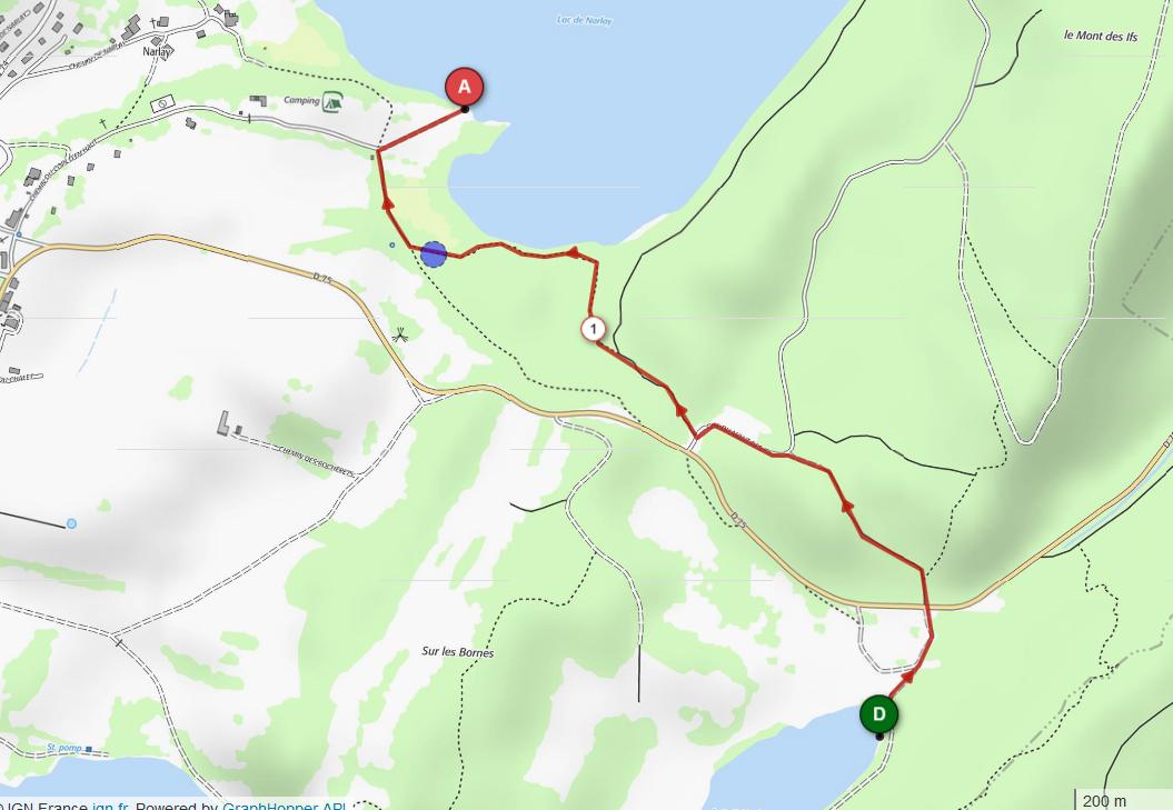 Cap 4 defi du pays des lacs 1 74 km d 17 m