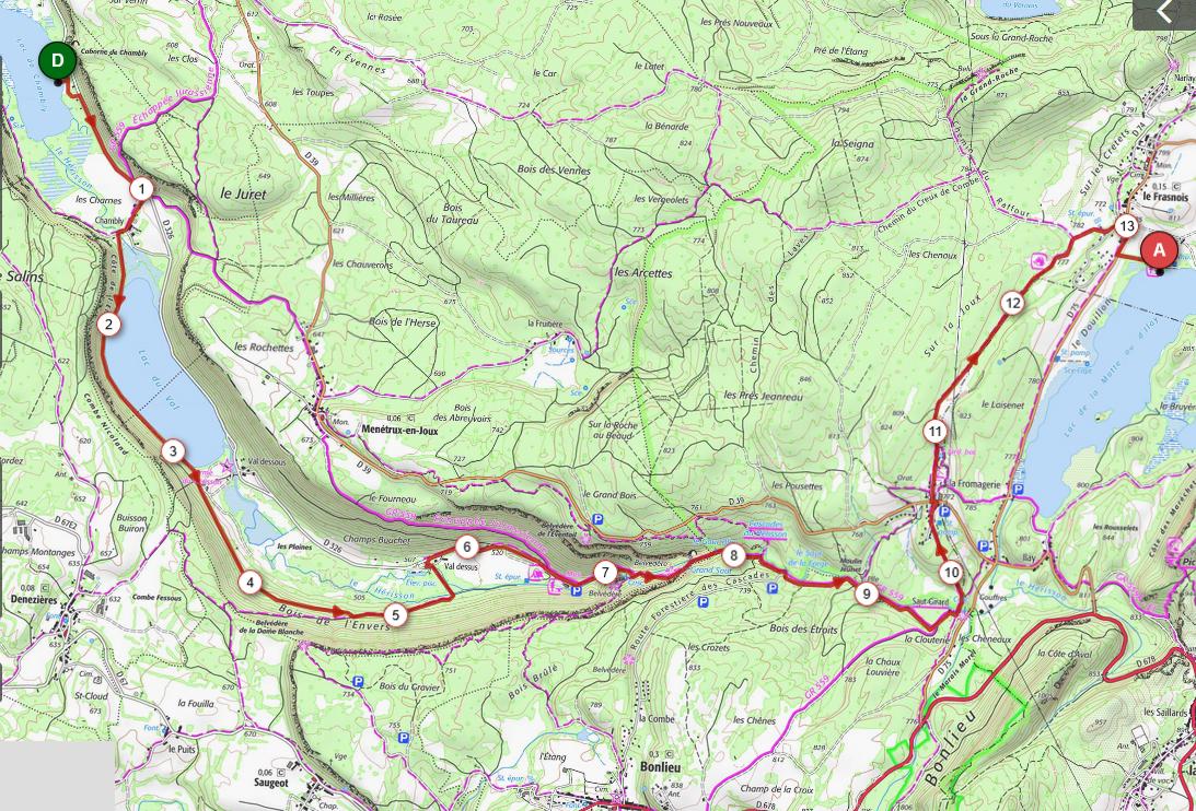 Cap 5 defi du herisson 13 5 km d 415m