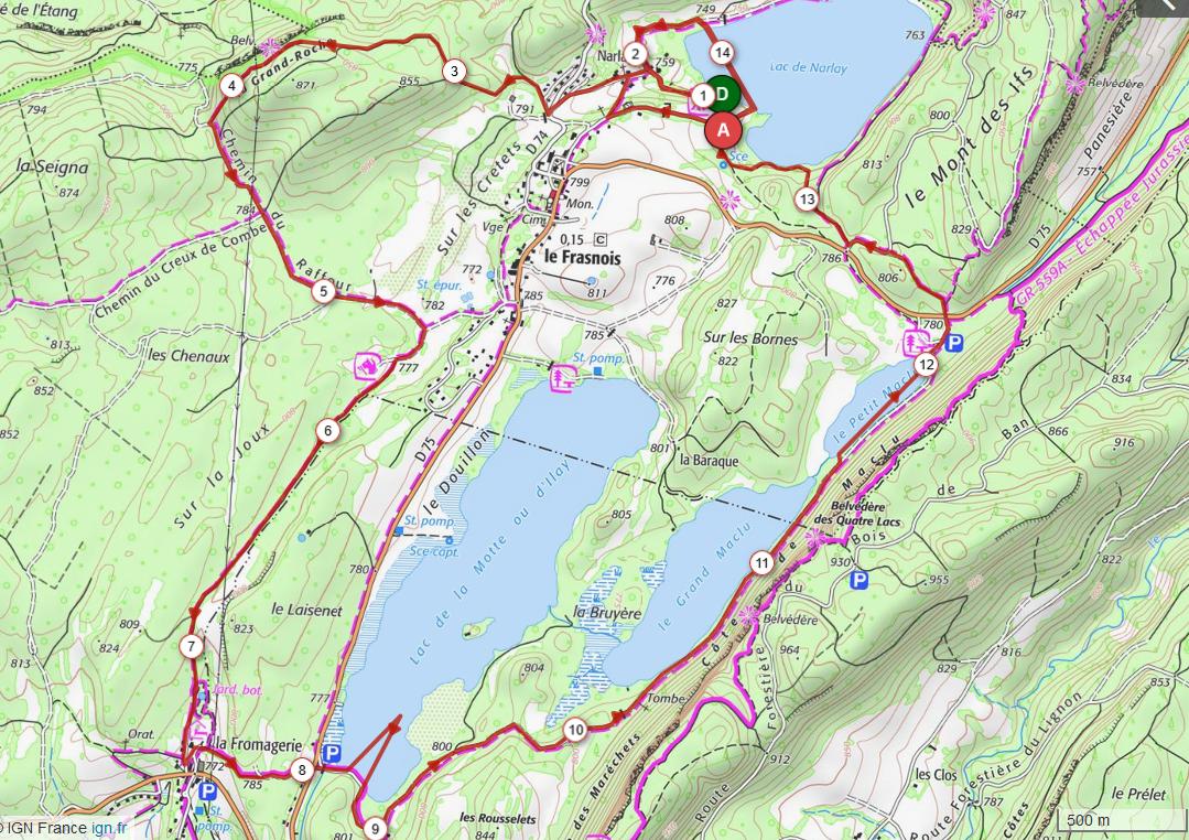 Defi du pays des lacs 14 93km d 255m