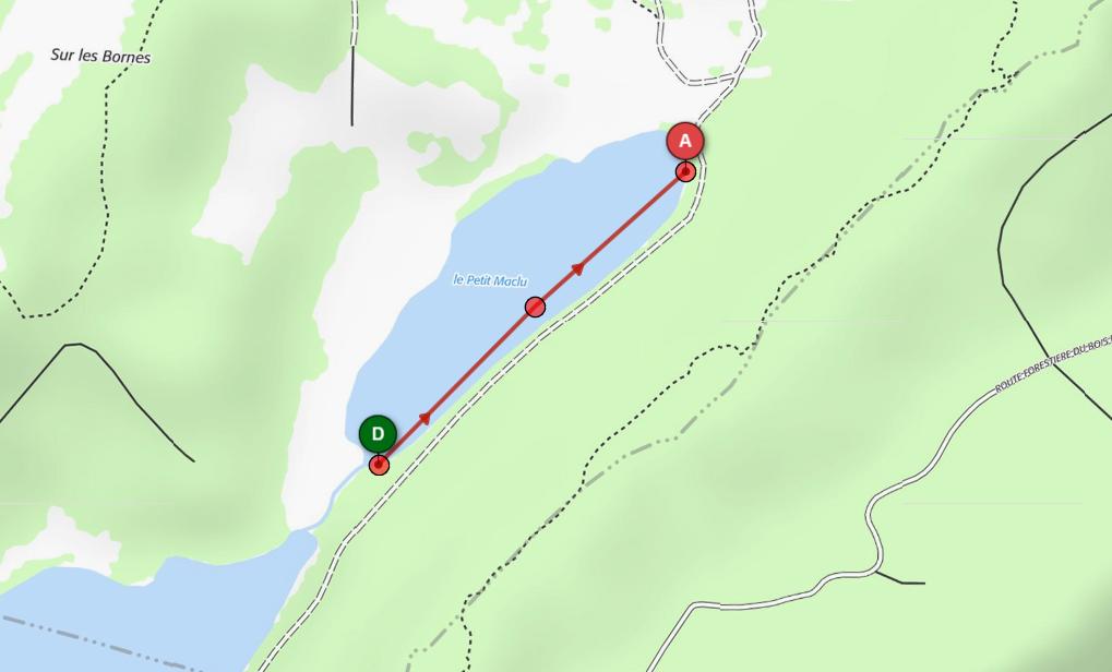 Natation 3 defi du pays des lacs 490 m